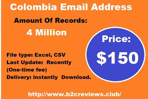 Colombia Email List