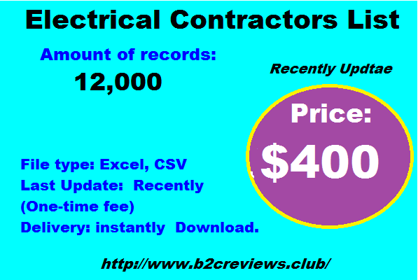 Electrical Contractors List
