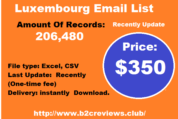 Luxembourg Email List