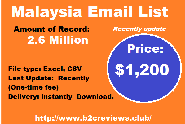 Malaysia Email List